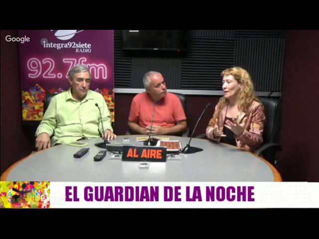 Sanación Reconectiva en El Guardián de la Noche 15/08/16