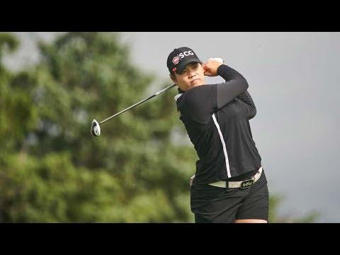 330 YARD 3-WOOD! LPGA Star Ariya Jutanugarn Hits 330 Yard Drive, Makes Birdie