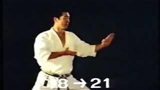 Heian Shodan JKA - Osaka Sensei  Explicações e Bunkai com Mestre Nakayama