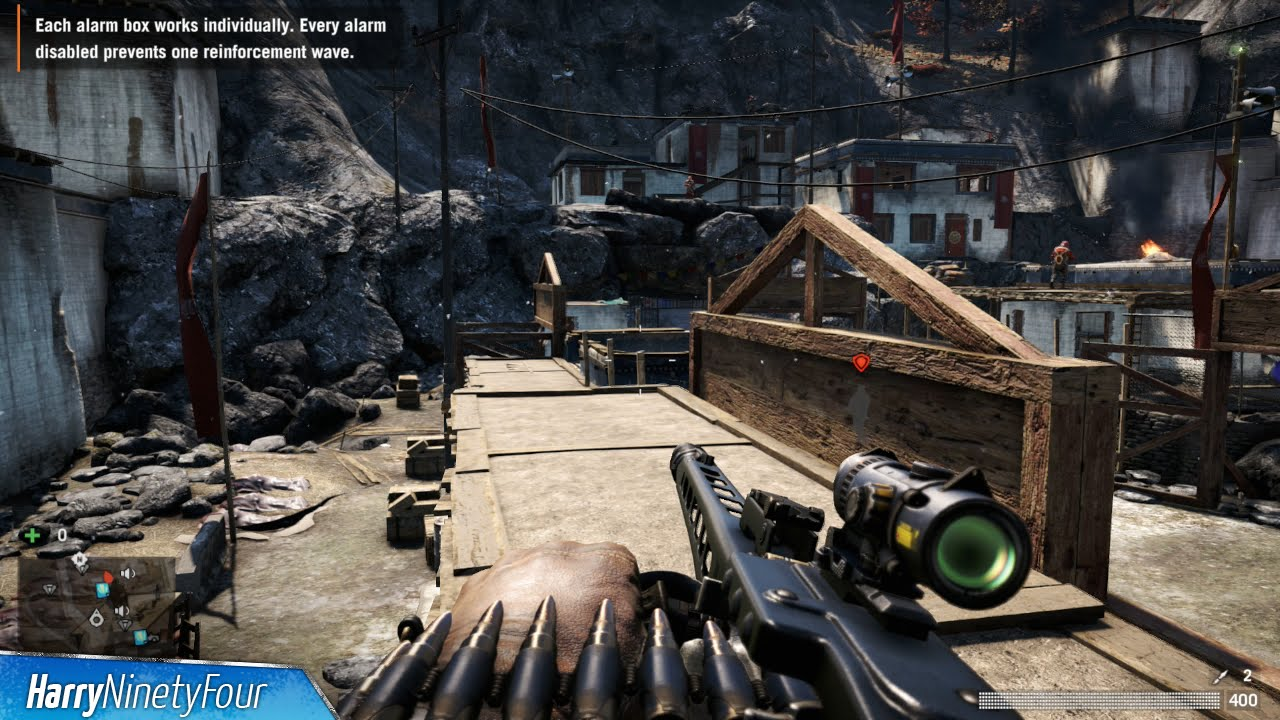 Far Cry Unlimited XP Money And Ammo XP In Seconds - Far cry 4 world map blank