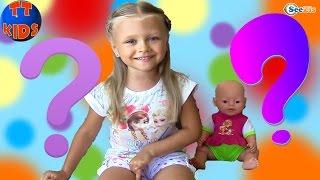 Кукла Беби Борн и Ярослава отвечают на вопросы зрителей - ВОПРОС-ОТВЕТ от Ярославы - Видео для детей