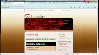 Microsoft Office under a minute in Red Cloud IT rCloud Office - Molntjänster Cloud Computing