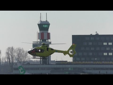 PLANE SPOTTING ROTTERDAM AIRPORT 15-3-2016 - SPECIAL VISITOR!