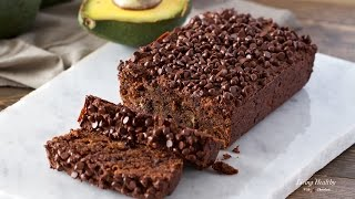 Avocado Chocolate Bread (Gluten and Grain-Free, Dairy-Free, Paleo)