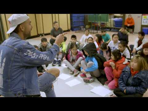 SonReal Visits Elementary School