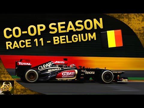 F1 2013 | Co-op Season w/ Kptk92 - R11 Belgium (Live Commentary)