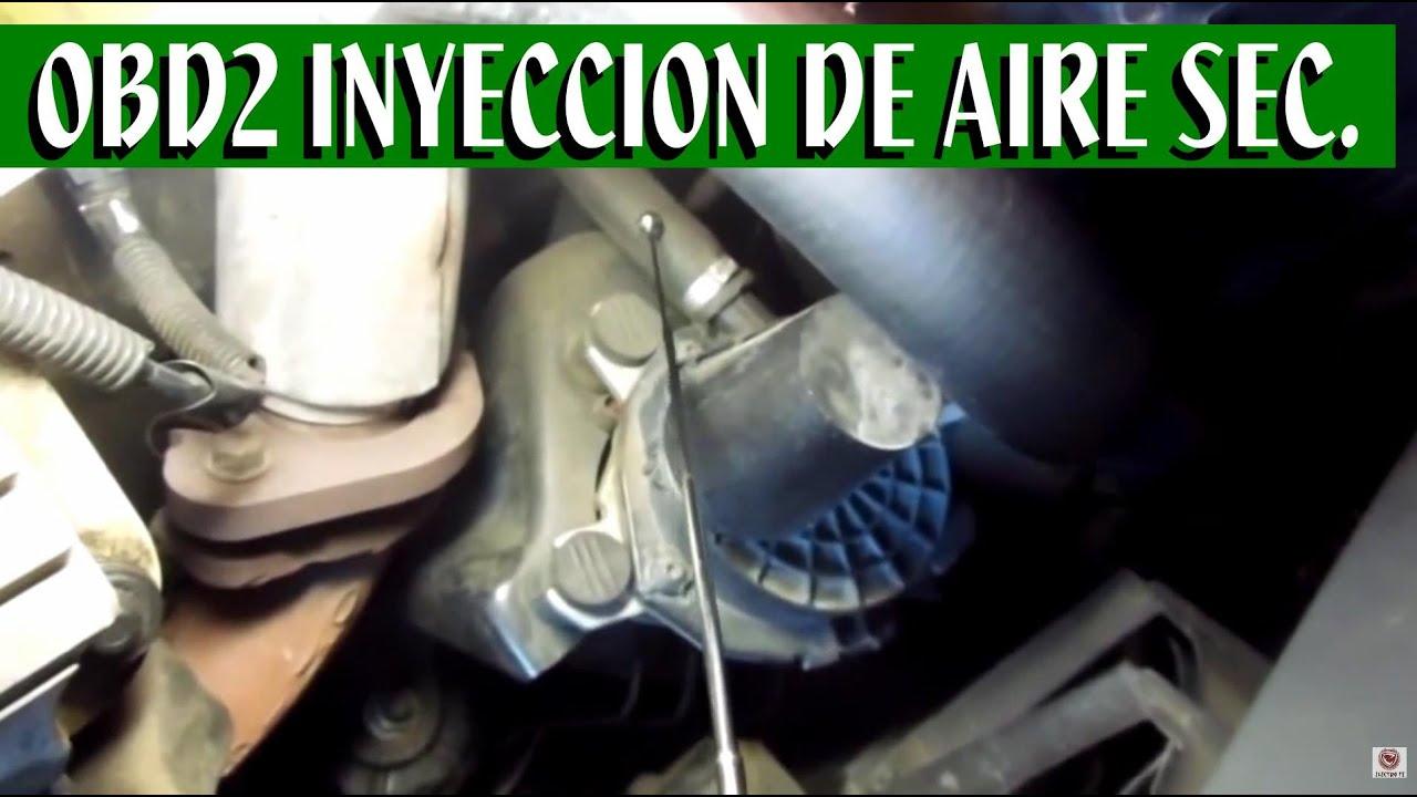 medium resolution of sistema de inyeccion de aire secundario partes principales