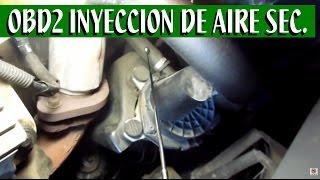 Sistema de inyeccion de aire secundario (partes principales)