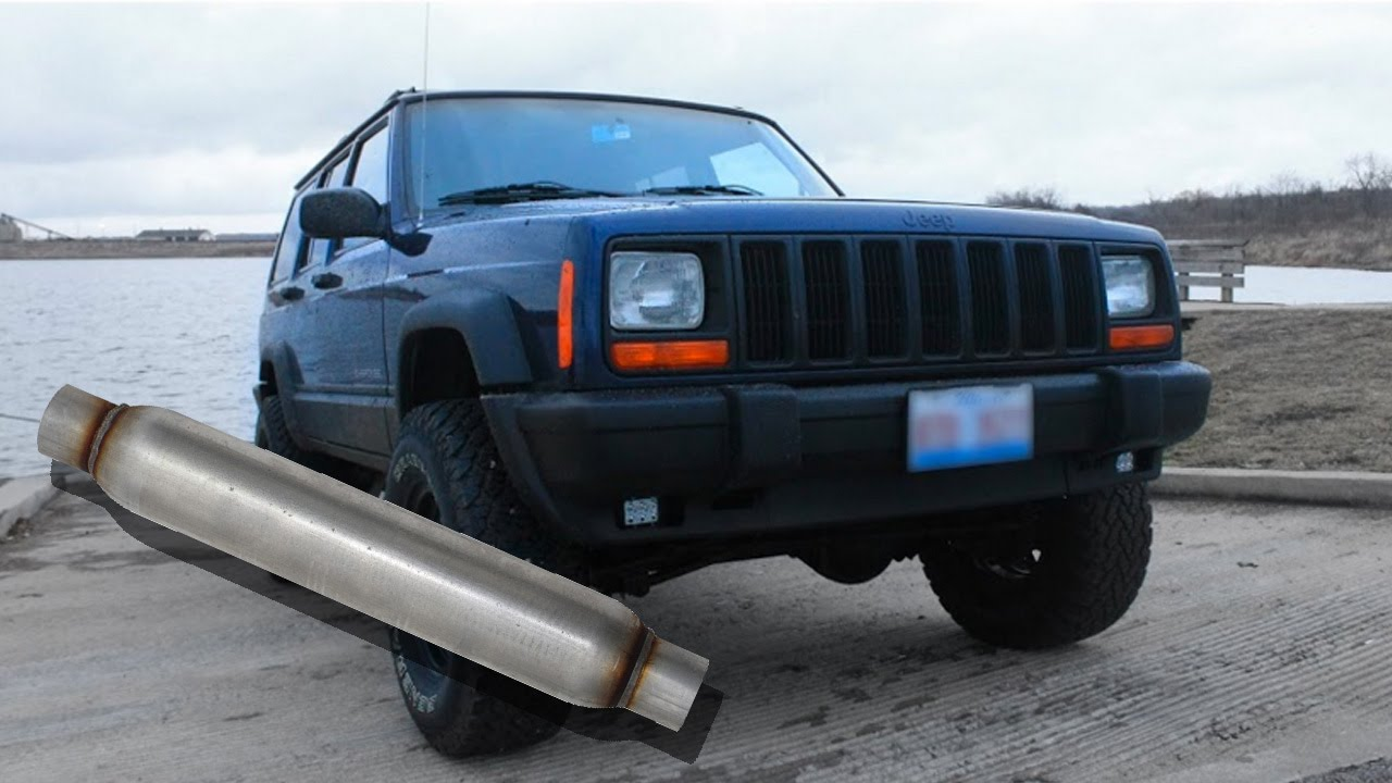 Magnaflow Glass Pack on Jeep Cherokee (xj)  YouTube