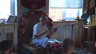 Бхагавад Гита 10.9 - Аударья Дхама прабху