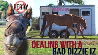 HUGE TRAILERING FAIL AND HAVING PERRY'S NAME WRONG! BARN VLOG!
