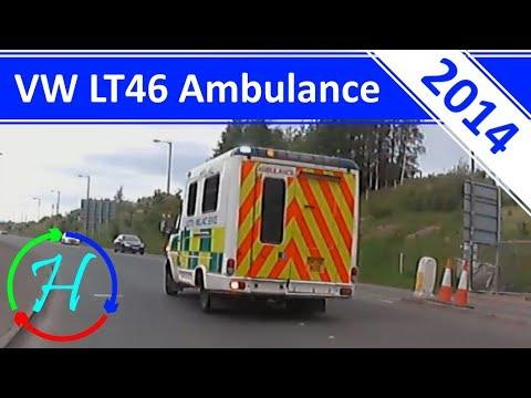 SAS VW LT46 Ambulance Responding in Midlothian - 17.5.2014