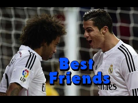 Cristiano Ronaldo & Marcelo Vieira - Best Friends - Funny moments, celebration, goals 2009 - 2016 HD