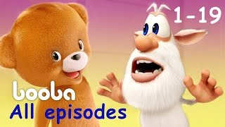 Download Booba - All Episodes Compilation (19 -1) Funny cartoons for kids буба 2017 KEDOO animation for kids Mp3 and Videos