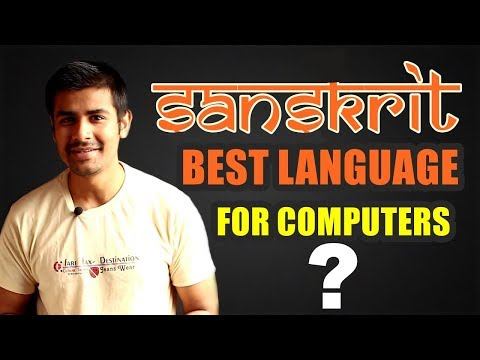 [Hindi] Sanskrit - Best Language For Computers ? | Explained in Detail