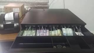 видео Кассовый денежный ящик Меркурий 100.1