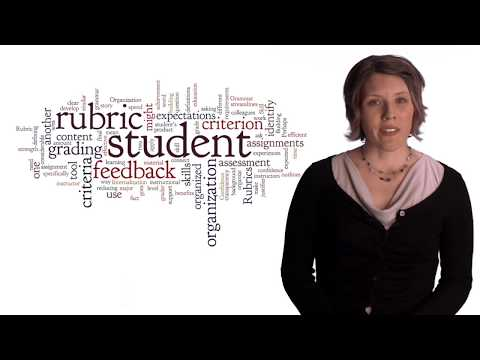 """""""What is a Rubric?"""" Online Education Best Practices at PCC"""