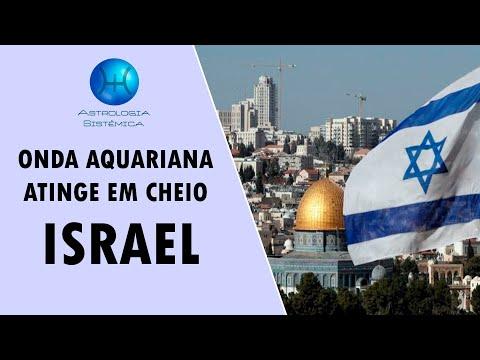 ONDA AQUARIANA ATINGE EM CHEIO ISRAEL - QUADRATURA T PODEROSÍSSIMA PODE ABALAR O PAÍS