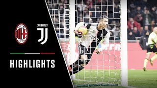 COPPA ITALIA HIGHLIGHTS: Milan vs Juventus - 1-1 - Ronaldo nets away goal