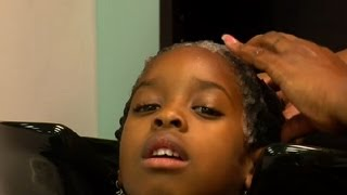 Zapętlaj How to Get African-American, Textured Hair Silky & Smooth : African-American Hairstyling | ehowbeauty
