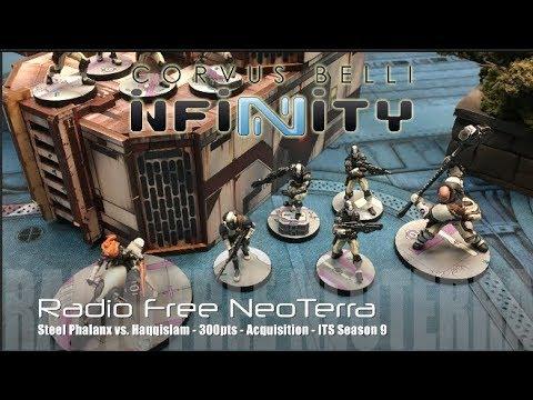 Radio Free NeoTerra Ep 65 - Steel Phalanx vs. Haqqislam 'Acquisition' ITS9