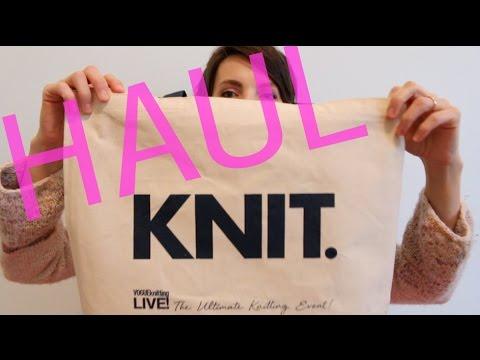 Haul: Vogue Knitting Live 2017