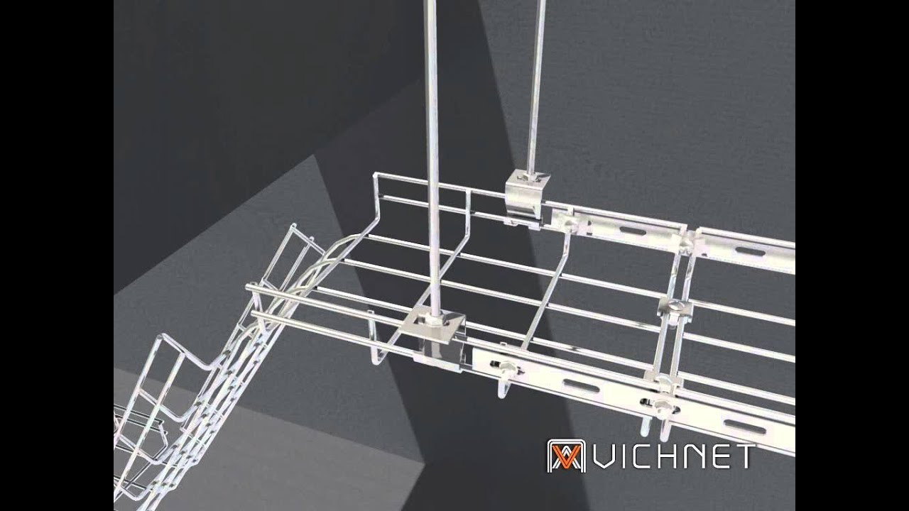 Vichnet cable tray /cable basket tray/ wire mesh cable tray/cable ...