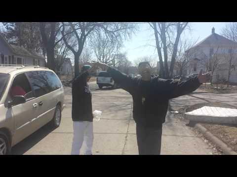 Darkface Squatta And Denoworld Visiting East Moline Illinois Hood