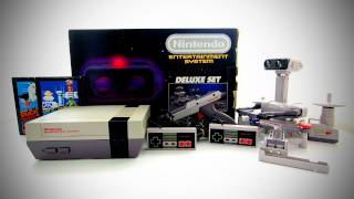 Nintendo NES Deluxe Set Unboxing (1985)