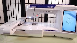 Brother™ Quattro® 2 Sewing & Embroidery Machine Overview