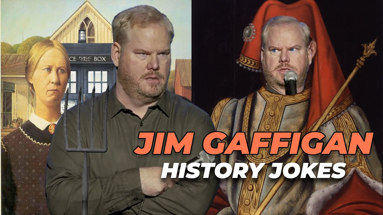 Funniest History Jokes  Jim Gaffigan Standup