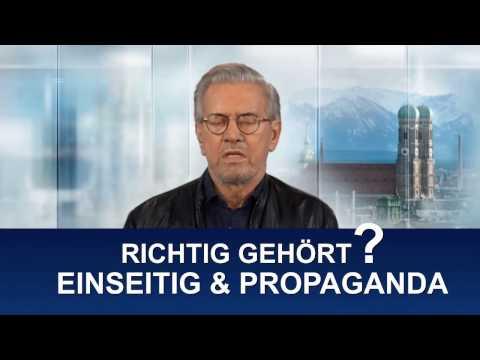 Syrien wieder Giftgas - Todenhöfer im TV - Propaganda (IS) und einseitige Berichterstattung