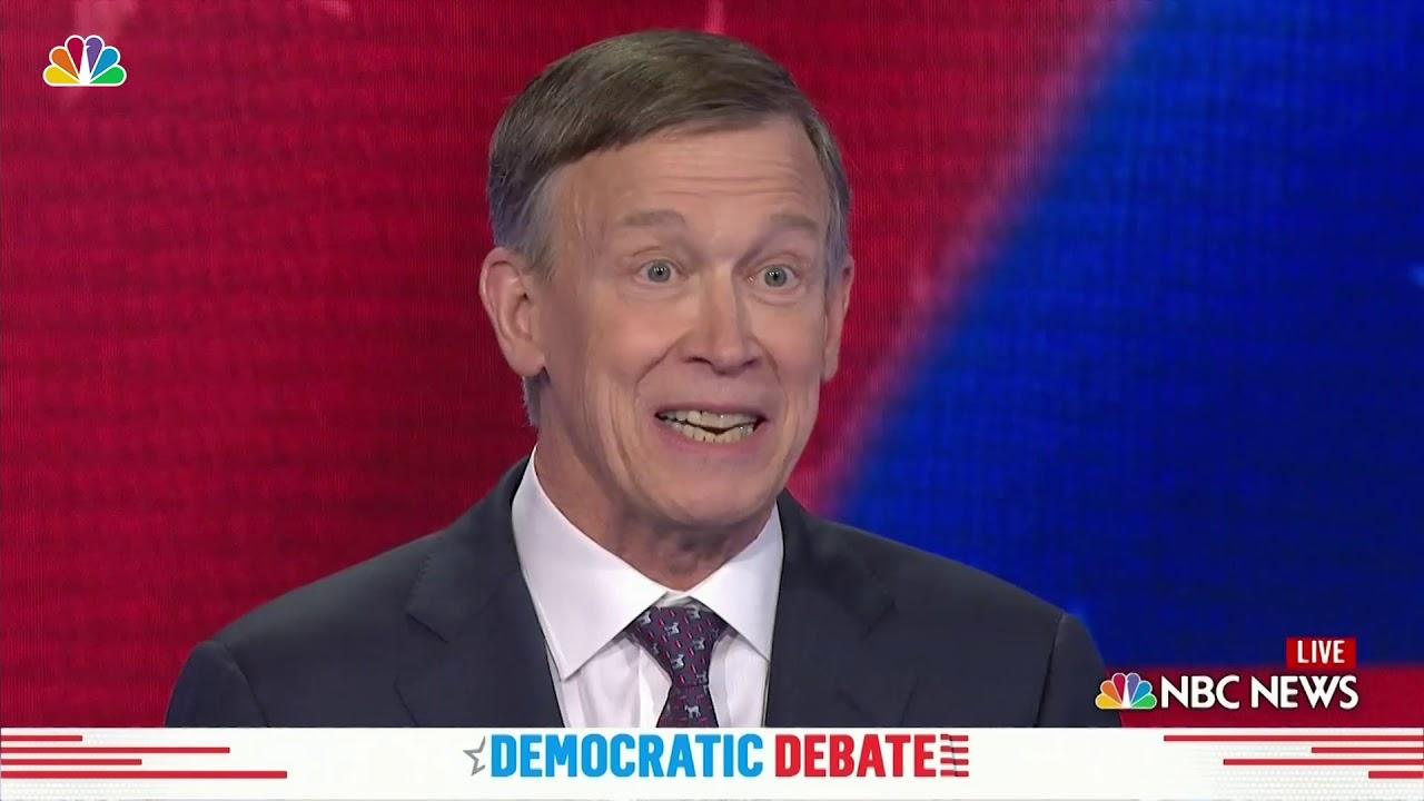 Download Everything John Hickenlooper Said During the Democratic Debate in Miami | NBC New York