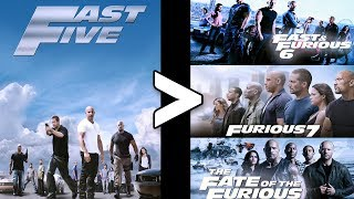 24 Reasons Fast Five Is The Best Fast and the Furious Movie