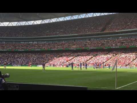 Sead Kolasinac First Goal for Arsenal- FA Community Shield 2017 6/7/2017