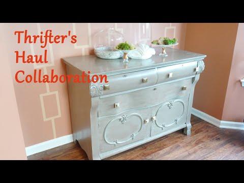 Thrifter's Haul Collaboration - YoutubeSisterhood (Home Decorist)