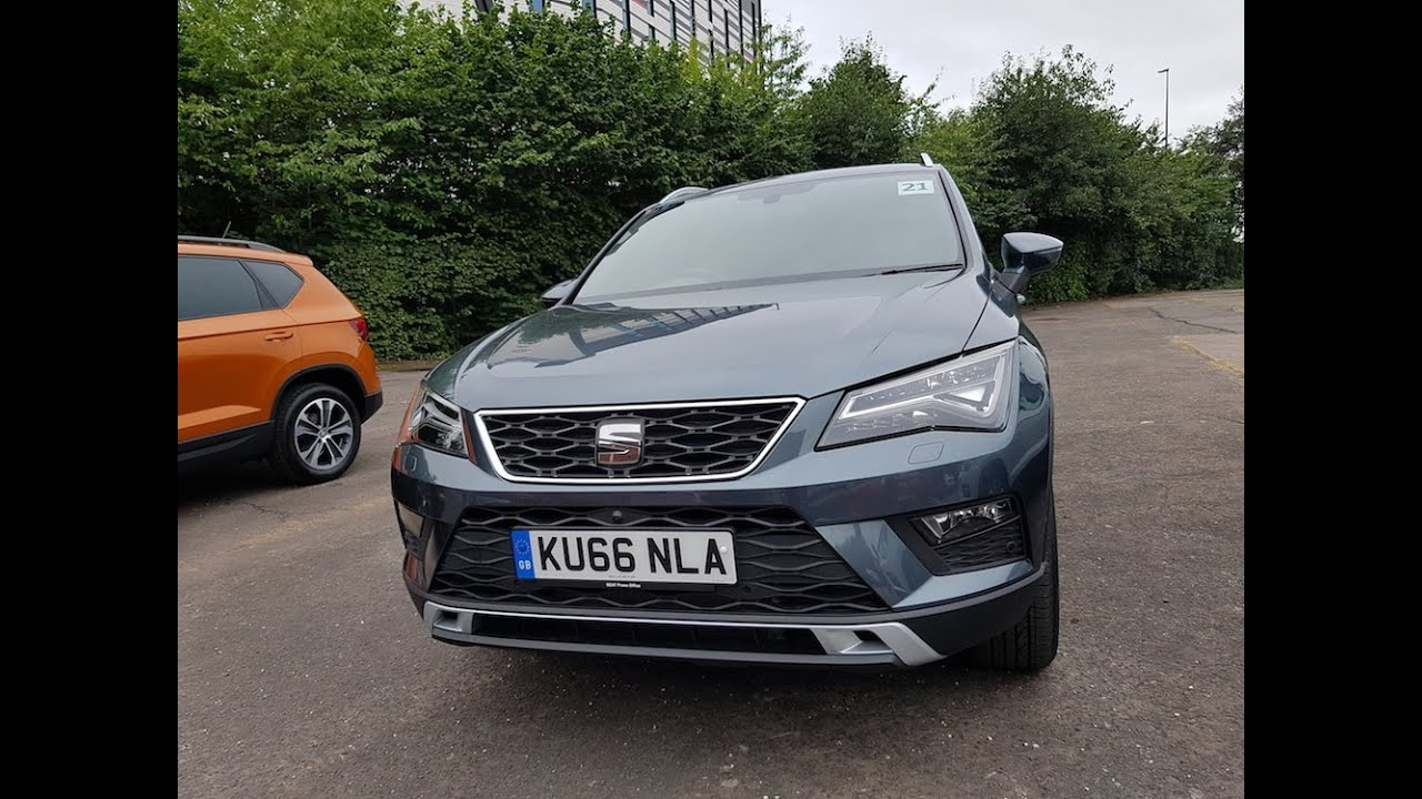 seat ateca test part 1 intro and 2 0 tdi xcellence youtube. Black Bedroom Furniture Sets. Home Design Ideas