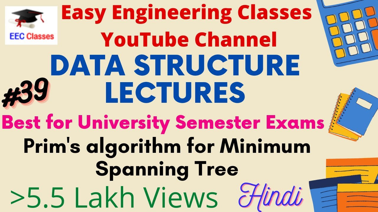 Implementation Of Line Drawing Algorithm : Prim's algorithm for minimum spanning tree in hindi english with