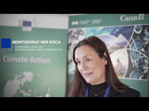 Interview with Montserrat Mir Roca @ CETA: Taking Action for Trade and Climate event