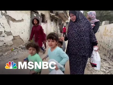 The Children Of Gaza Traumatized After Days of Conflict
