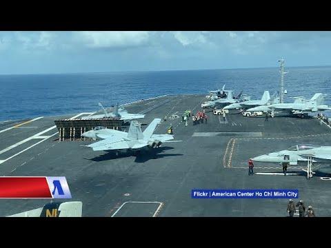 Truyền hình VOA 28/3/20: Thêm 25 thủy thủ nhiễm Covid-19 trên hàng không mẫu hạm Mỹ vừa thăm VN