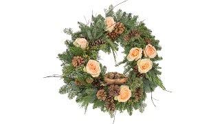 Nested Christmas Wreath
