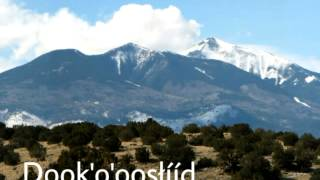 Navajo Four Sacred Mountain Song (Traditionally)