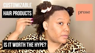 ARE CUSTOMIZED HAIR PRODUCTS THE WAVE? PROSE HAIR CARE FULL REVIEW/NATURALRIZADO PRODUCT REVIEW