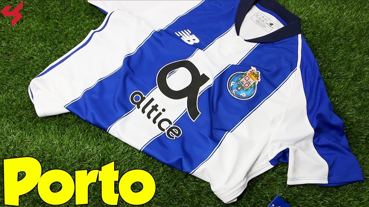 big sale 6a374 e76ec New Balance FC Porto 2018/19 Home Jersey Unboxing + Review