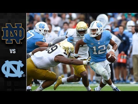 Notre Dame vs. North Carolina Football Highlights (2017)