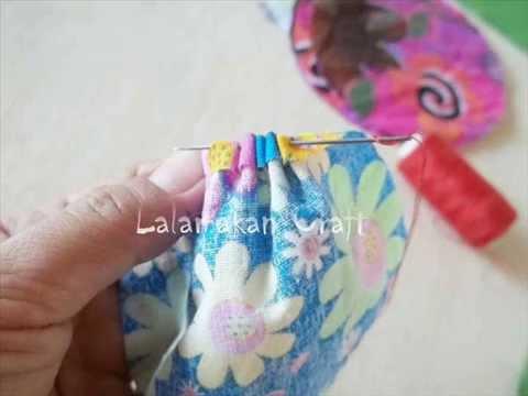 Membuat bunga dari kain perca - YouTube b35d7393a4