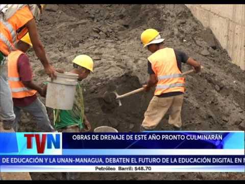 OBRAS DE DRENAJE DE ESTE AÑO PRONTO CULMINARÁN