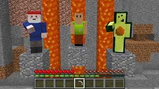 Minecraft: Saving Hamood and Avocados from Mexico #Shorts