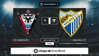 CD Mirandés - Málaga CF MD5 S1600